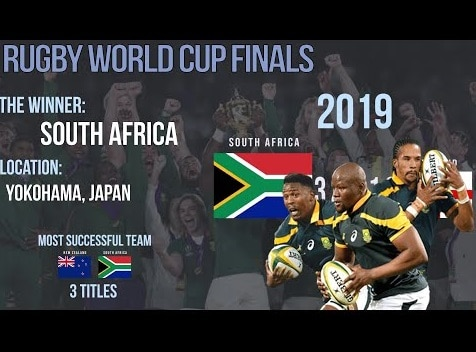 2019 Rugby World Cup Winners and Runners up info Full of list
