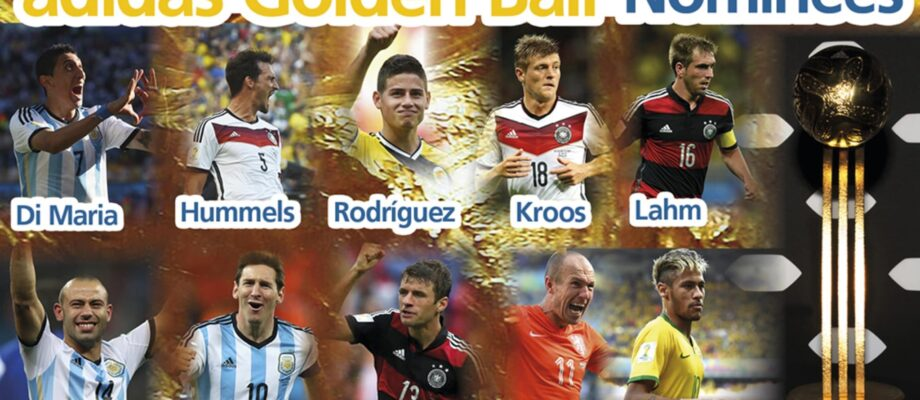 2014 FIFA World Cup Finals Winners and Runners Up Info List