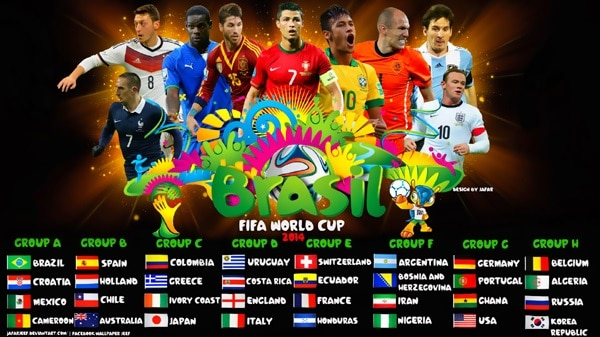 FIFA World Cup 2014: All of performances in the biggest football list out event